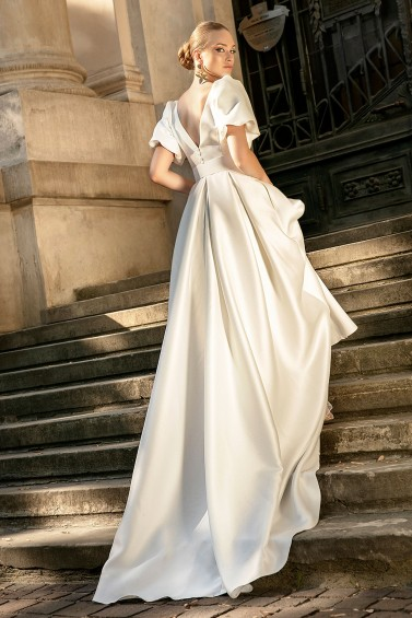 suknia ślubna TO-1263T tył