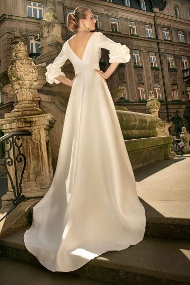 suknia ślubna TO-1344T tył