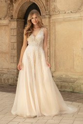 suknia ślubna TO-1348T przód