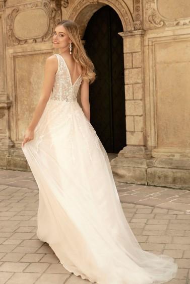 suknia ślubna TO-1348T tył
