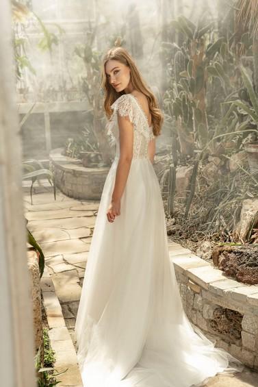 suknia ślubna TO-1349T tył
