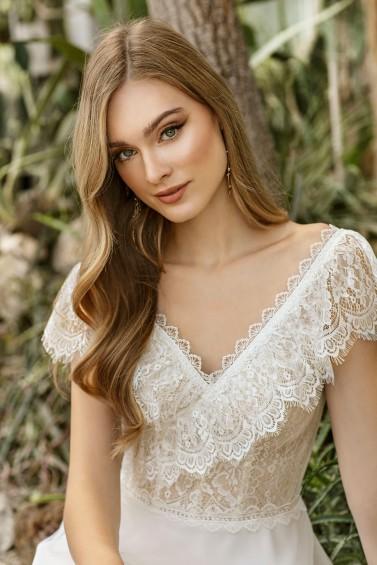 suknia ślubna TO-1349T zbliżenie