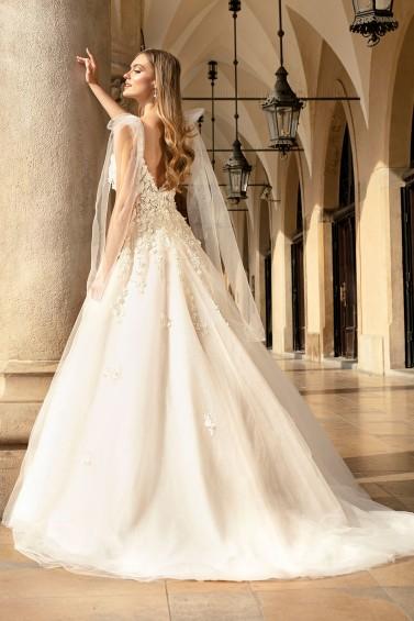 suknia ślubna TO-1352T tył