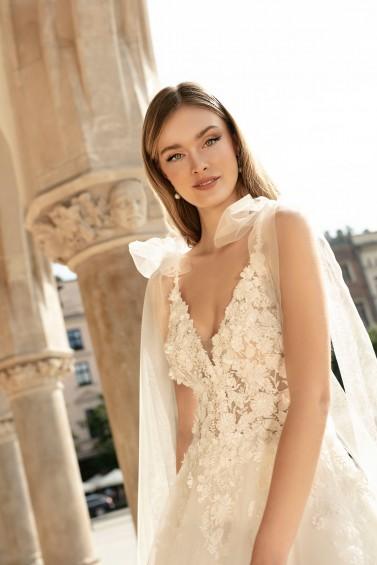 suknia ślubna TO-1352T zbliżenie