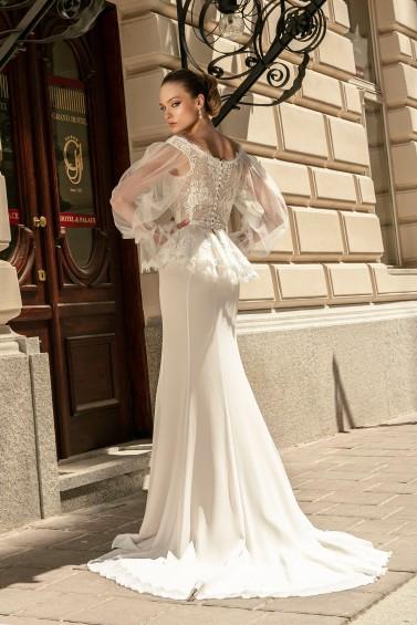 suknia ślubna TO-1353T tył