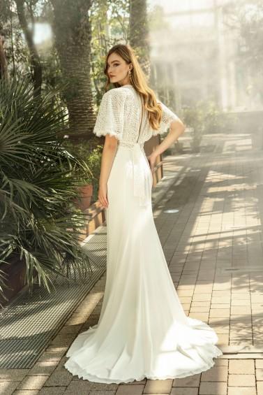 suknia ślubna TO-1358T tył