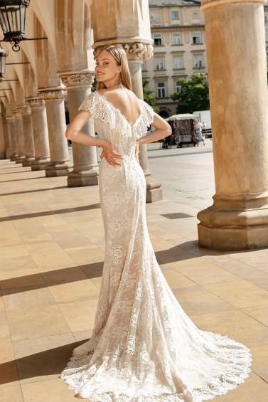 suknia ślubna TO-1360T tył