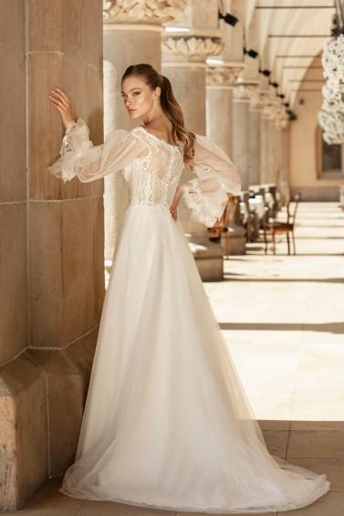 suknia ślubna TO-1361T tył