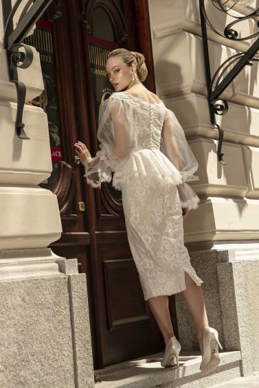 suknia ślubna TO-1363 tył