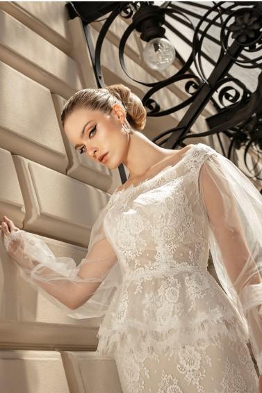 suknia ślubna TO-1363 zbliżenie