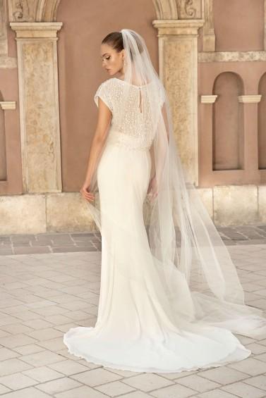 suknia ślubna TO-1379T tył
