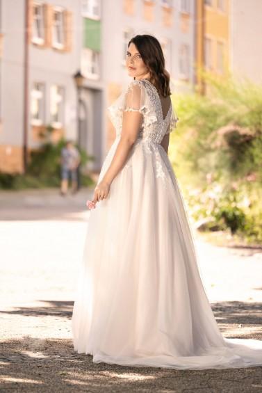 suknia ślubna LO-283T tył