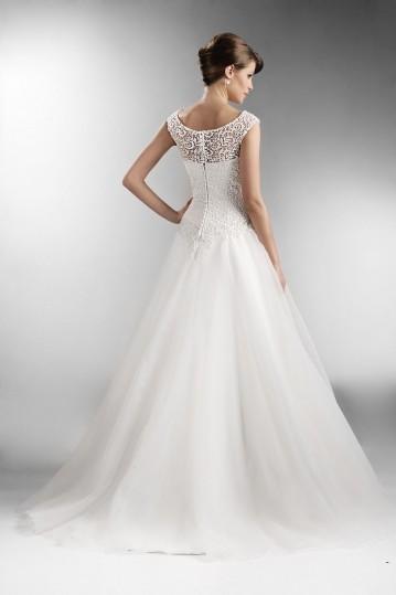 suknia ślubna TO-549 tył