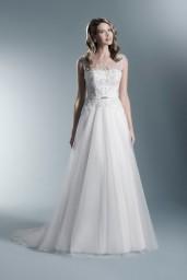 suknia ślubna TO-624T przód