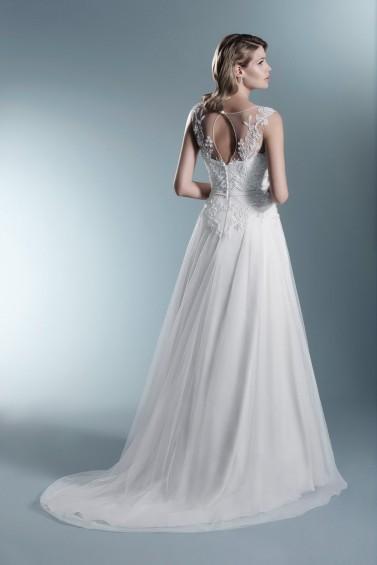 suknia ślubna TO-624T tył