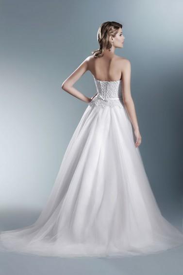 suknia ślubna TO-651 tył