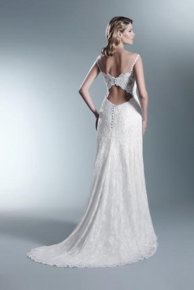 suknia ślubna TO-653T tył