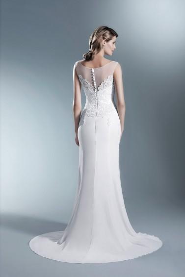 suknia ślubna TO-661T tył