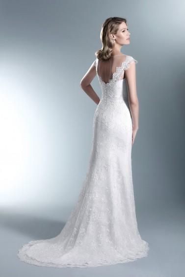 suknia ślubna TO-662T tył