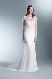 suknia ślubna TO-673T przód
