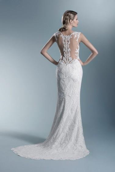suknia ślubna TO-685T tył