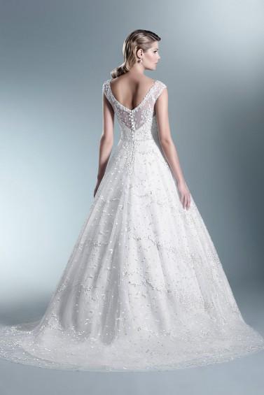 suknia ślubna TO-691T tył