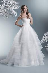 suknia ślubna TO-692T przód