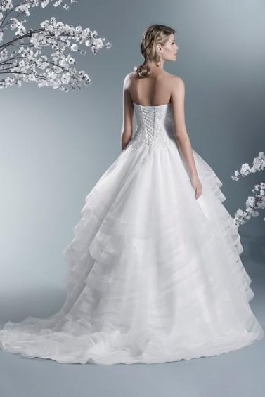 suknia ślubna TO-692T tył