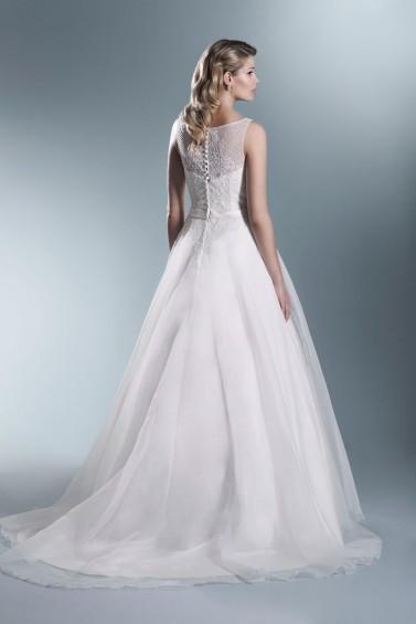 suknia ślubna TO-694T tył