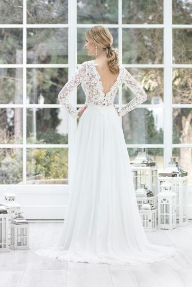 suknia ślubna TO-811T tył