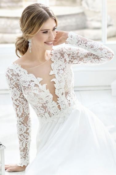 suknia ślubna TO-811T zbliżenie