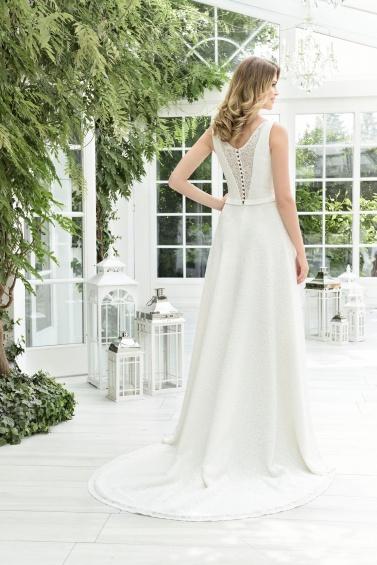 suknia ślubna TO-844TR tył
