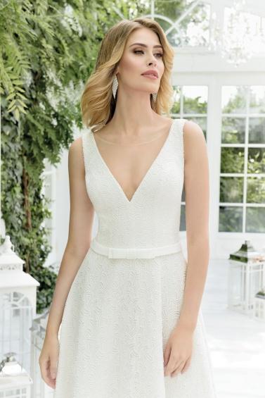 suknia ślubna TO-844TR zbliżenie