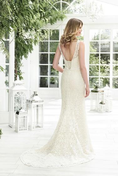 suknia ślubna TO-846T tył