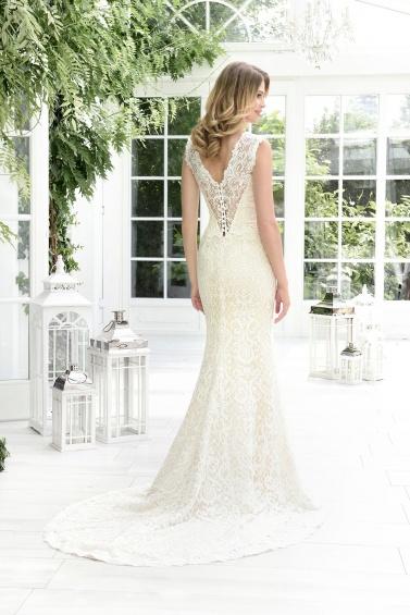 suknia ślubna TO-848T tył