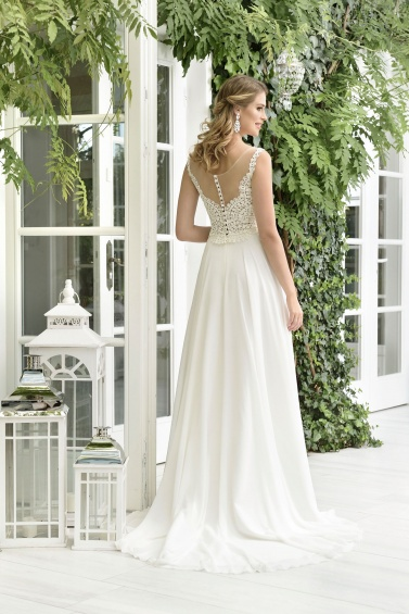 suknia ślubna TO-853T tył