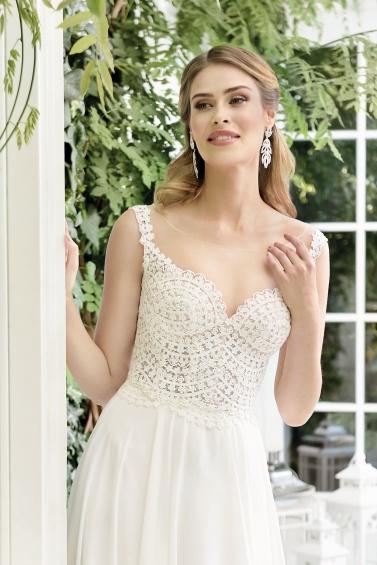 suknia ślubna TO-853T zbliżenie
