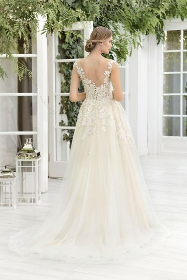 suknia ślubna TO-854T tył
