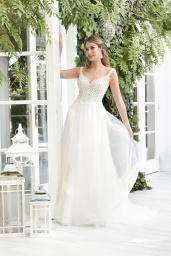 suknia ślubna TO-856T przód