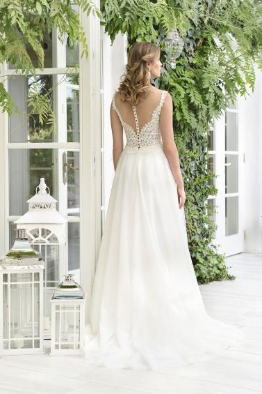 suknia ślubna TO-856T tył