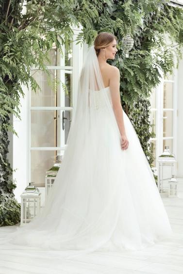 suknia ślubna TO-857T tył
