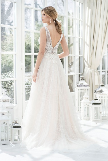 suknia ślubna TO-858T tył