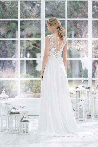 suknia ślubna TO-872T tył