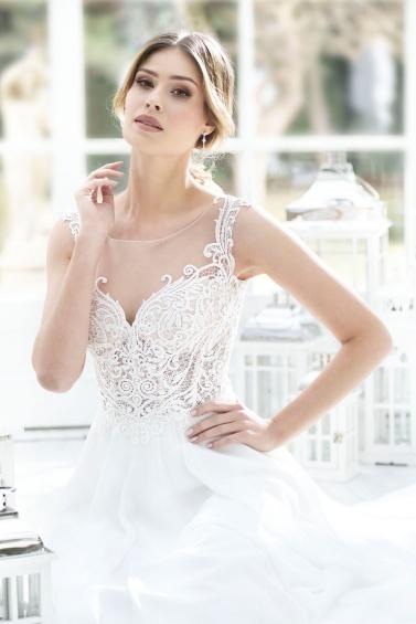 suknia ślubna TO-872T zbliżenie
