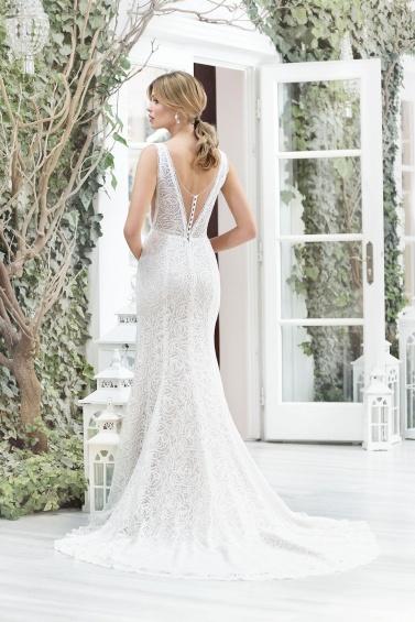 suknia ślubna TO-889T tył