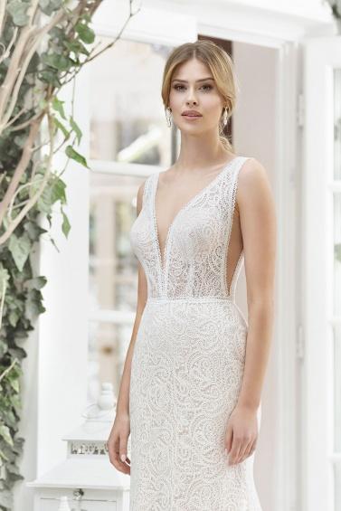 suknia ślubna TO-889T zbliżenie