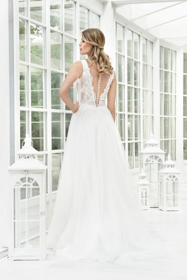 suknia ślubna TO-897T tył