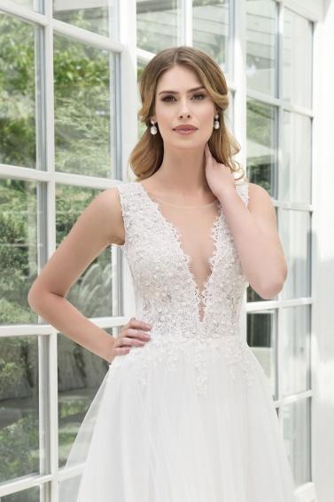 suknia ślubna TO-897T zbliżenie