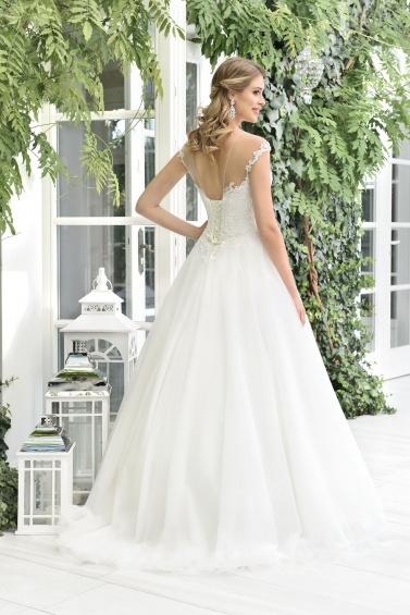 suknia ślubna TO-898T tył