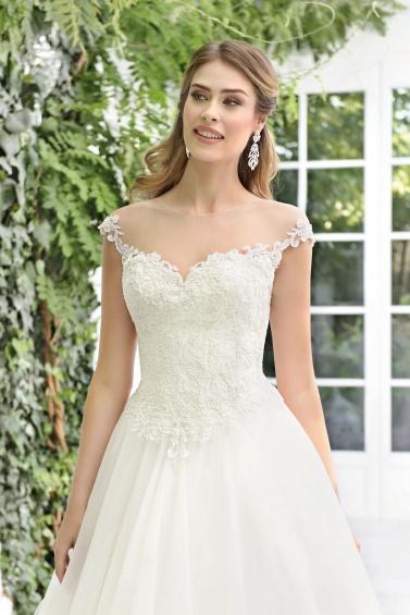 suknia ślubna TO-898T zbliżenie